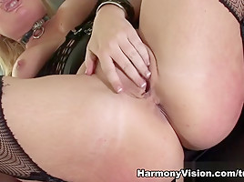 Flower Tucci in Big Blonde Gets Her Ass Banged – HarmonyVision