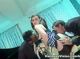 Tiffany Doll in Two Cocks One Girl – HarmonyVision