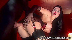 Best pornstars Aletta Ocean, Lina Paige in Hottest Pornstars, DP adult video