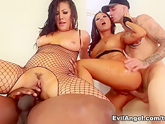 Best pornstars London Keyes, Chris Strokes in Fabulous Facial, Anal sex scene