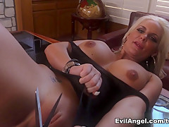Exotic pornstars Lexington Steele, Phoenix Marie in Incredible Interracial, MILF adult movie