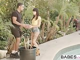 Babes – Black is Better – A Helping Hand starring Stallion a
