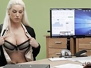 LOAN4K. Lovely Blanche sucks dick and gets her sissy fucked
