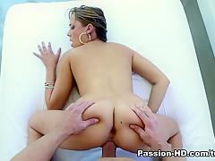 Fabulous pornstar Ella Milano in Crazy Pornstars, Cunnilingus adult movie