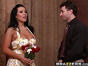 Brazzers – Milfs Like it Big – Dinner and a Floozy scene sta