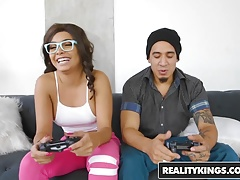 RealityKings – Round and Brown – Gamer Girl