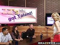 Brazzers – Shes Gonna Squirt – ZZs Got Talent scene starring