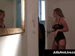 Blonde Bombshell Milf Julia Ann Gets A Cock From Denis Marti
