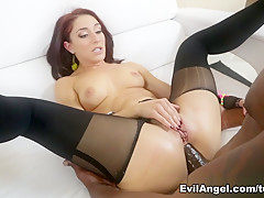 Amazing pornstars Mischa Brooks, Lexington Steele in Exotic Redhead, MILF adult clip