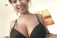 Big Asian knockers bouncing while fucking