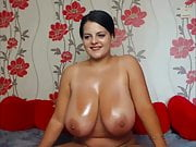 The most beautiful girl and a special night on the webcam