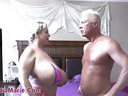 Whore Punished By Huge Silicone Injected Cock And Balls