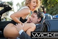Wicked Pictures jessica drake Has HOT Erotic Car Sex