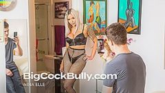 Nina Elle Gets Fucked By Her Son's Bully – BigCockBully
