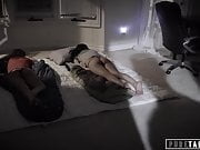 PURE TABOO Step-Sisters Have Threesome with Dirty Step-Uncle