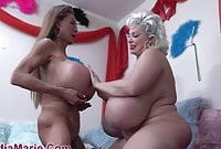 Monster Fake Tits Whores Claudia Marie And Minka