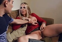 Stepmom Teaches Stepson How To Fuck – full scene at ebrazz.tv