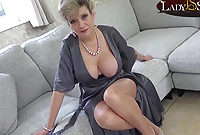 Lady Sonia just loves to watch you masturbate