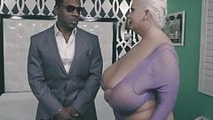 Claudia Marie Stretched By Black Bodyguard