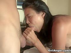 Exotic pornstars Tyler Nixon, James Deen, Dana Vespoli in Fabulous Brunette, Pornstars xxx movie
