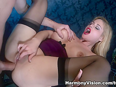 Horny pornstar Cathy Heaven in Best Fingering, Facial sex scene