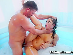 Exotic pornstars Madelyn Monroe, Mick Blue, Abella Danger in Crazy Big Tits, Big Ass sex video