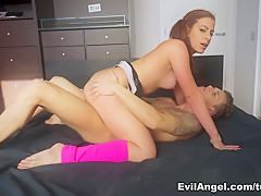 Hottest pornstars Chris Diamond, Nacho Vidal in Fabulous Latina, Redhead adult scene
