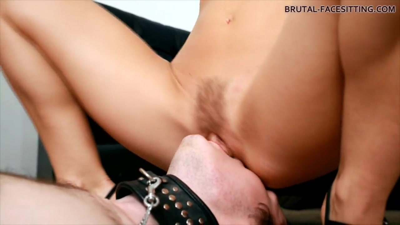 Brutal-FaceSitting Video: Linda