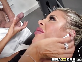 Brazzers – Dirty Masseur – Stress Buster scene starring Cour