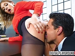 XXX Porn video – The Panty Hoes Giselle Palmer Ryan Driller