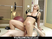 TheRealWorkout – Hot Milf Fucks Fitness Client