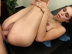 WANKZ- Horny Office Slut Takes a Cock