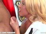 Blonde MILFS love to be dominant