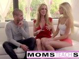 Moms Teach Sex – Big tit mom catches daughter