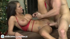 Pornstars Peta Jensen and Johnny Sins have some cam fun Part5
