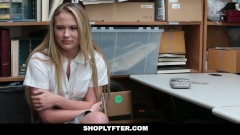 Shoplyfter – Catholic Schoolgirl Fucked For Stealing
