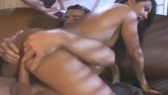 amazing group sex and anal with two dirty babes