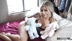STEP DAUGHTER KARMA RX RECEIVES HER VALENTINES DAY PRESENT